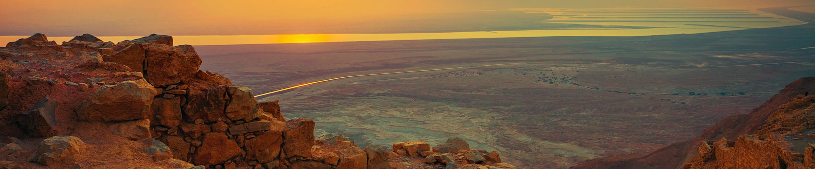A Sunset - Trips to Israel