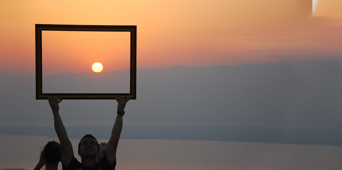 picture-frame-around-the-sun in Israel