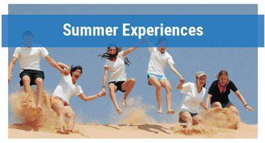 Summer experiences for teens