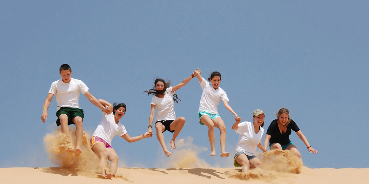 jewish teen summer travel